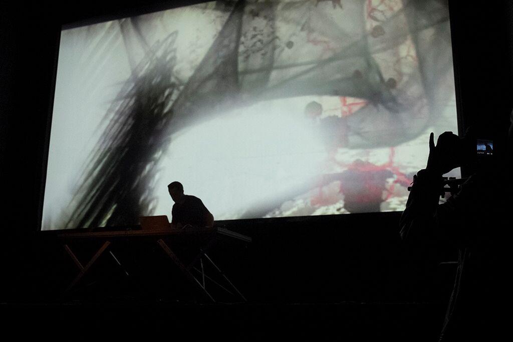 Performance audiovisual Voicescapes Jaime Munarriz v edcd